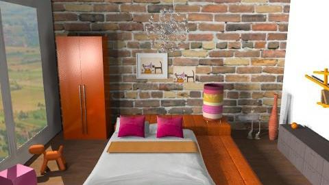 i love cats - Modern - Bedroom  - by Aliya Al