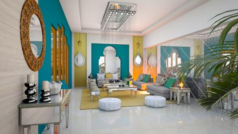 Grand Chandelier - Living room  - by Feeny