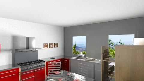 my kitchen - Modern - Kitchen - by rebeccaamram