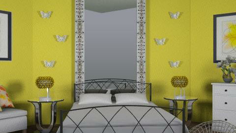 Lil Miss Sunshine - Eclectic - Bedroom  - by channing4