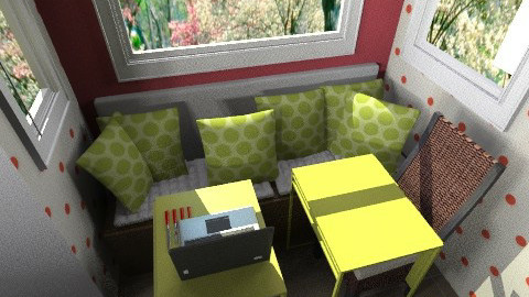 kitchen layout23 - Eclectic - Kitchen  - by Tiffany12983