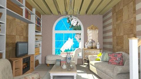 Tea Time - Retro - Living room  - by beabiabolhas
