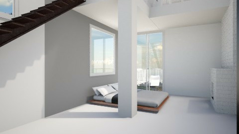 His place - Minimal - Bedroom  - by ericeira
