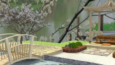 zen garden - Classic - Garden  - by leendave