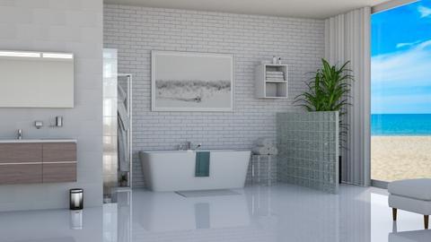 Island vibes bathroom - Bathroom  - by ActressHannah