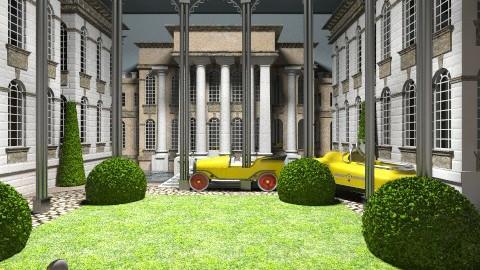 mansion - Retro - by FRANKHAM