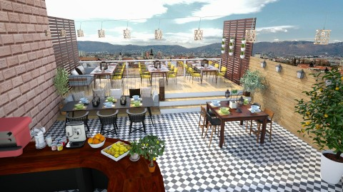 Rooftop Bar - Modern - Garden  - by katarina_petakovi