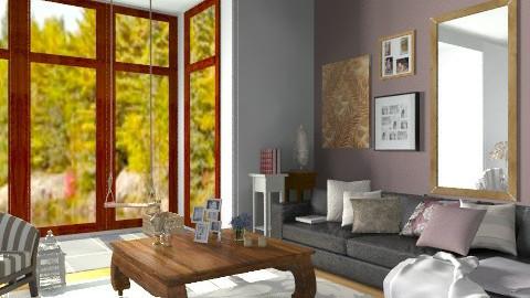 soft home - Classic - Living room  - by sahfs