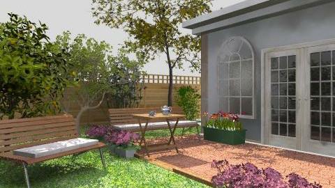 Flower garden - Classic - Garden  - by anjo16