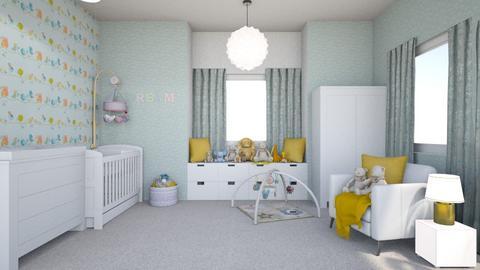 Surprise Baby Nursery - Kids room  - by MyDesignIdeas