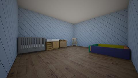 3D room planning  - Kids room  - by Sdensford