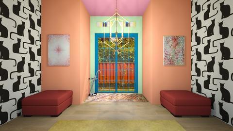 Modern Playful Hallway - by josielz