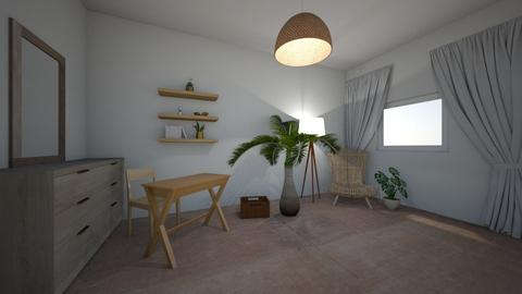 Natural Desk Living space - Modern - Office  - by hannahelise1 and louisebelle