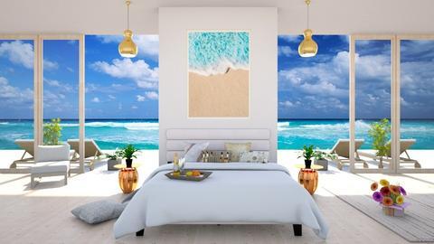 Summer Bedroom - by BibiMarton