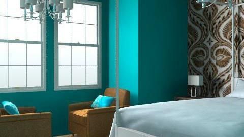 millionaire - Retro - Bedroom  - by kimmi millionaire