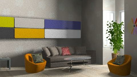 Coulour.....s - Living room - by MagnifiquE