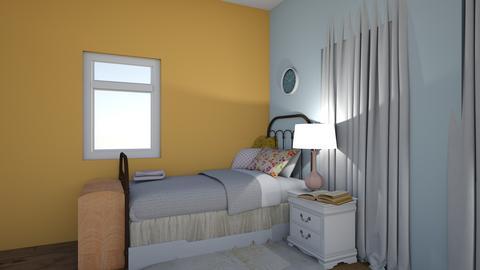 Annabelle Room - Retro - Bedroom  - by needanewroomiguess