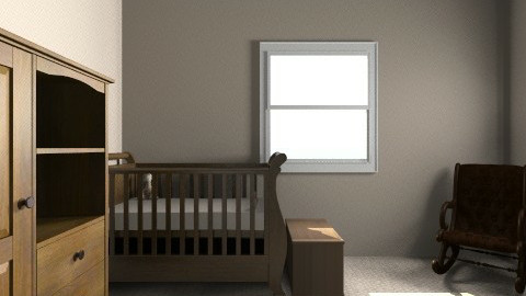 nursery - Glamour - Kids room  - by kaycal1