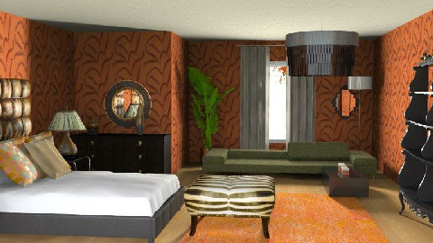 Queen - Eclectic - Bedroom  - by channing4