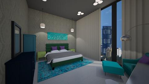 Kevin Huynh Number 1 - Modern - Bedroom  - by KevinH223