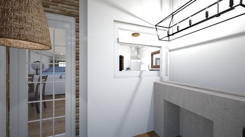 casa piso 1 parte trasera - Global - Garden  - by juanseoficialcc