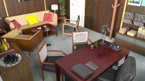 Mad Men Office - Retro - Office  - by johannaviola87