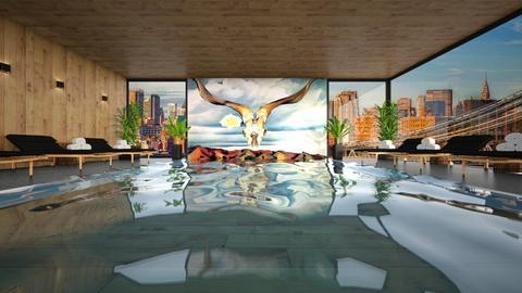 o keeffe pool - by miadesign