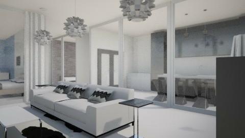 black n' white and glass - by rockytalita