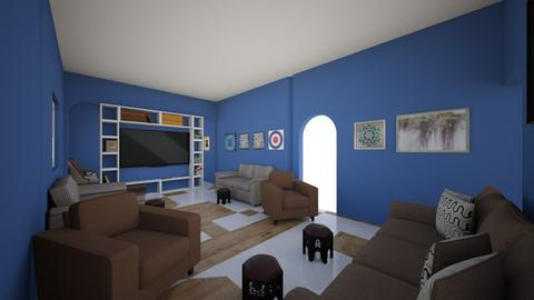 Final3 - Living room  - by ahmed1234