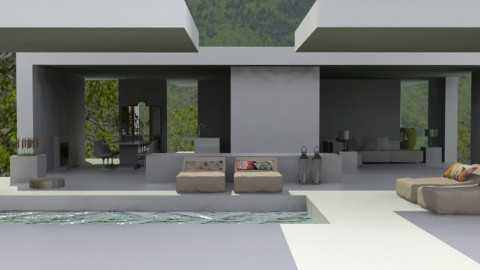 House 2 - Modern - Garden  - by monicabl