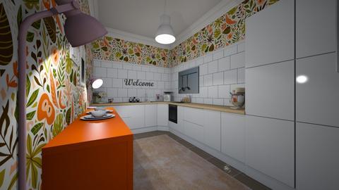 Fruity Kitchen - Feminine - Kitchen  - by Jodie Scalf