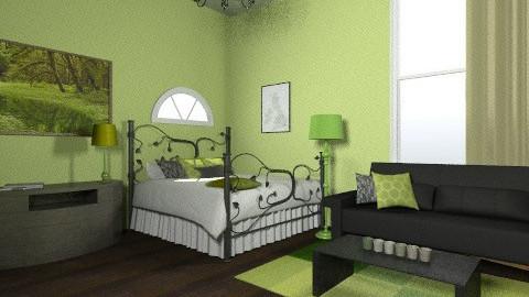 Green - Global - Bedroom - by 89dudes