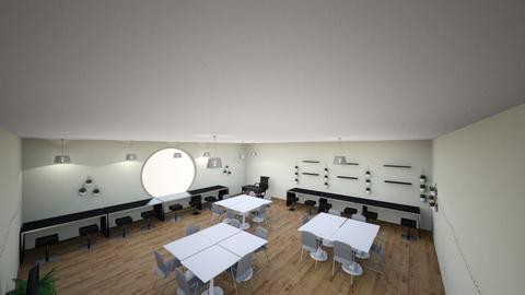 Math Classroom  - Modern - Office  - by ahna2115
