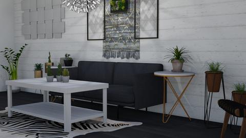 aes - Living room - by russlmlan