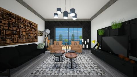 orit990 - Living room  - by Orit Sander