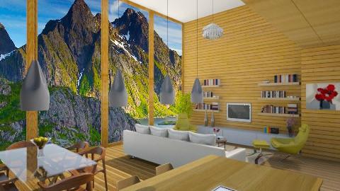 Chalet Moderno - Modern - Living room  - by giulygi