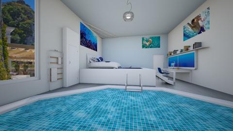 Tomas room - Modern - Kids room  - by ChZu