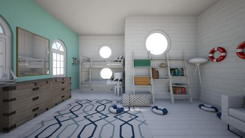 Boat themed bedroom - Kids room  - by Chayjerad