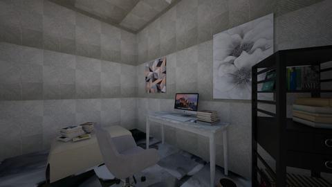 gray office  - by swirlyAj
