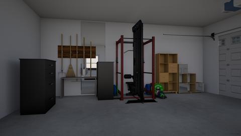 2 Car Garage Template - by solidaudio1