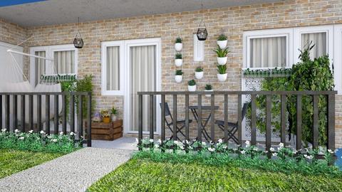 Balcony - Garden  - by Lizzy0715