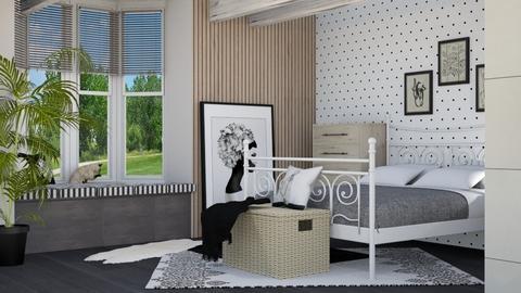 Stormy bedroom - Bedroom  - by annalis2288
