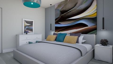 Maria Mustata - Bedroom - by Flori Santa
