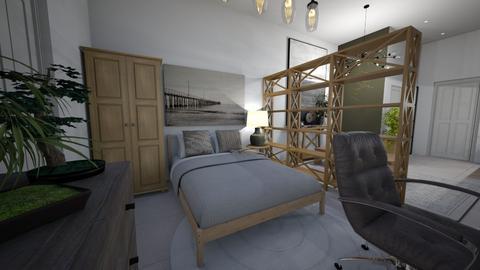 SKT Apartment Bedroom - Minimal - Bedroom  - by lukecepheidv