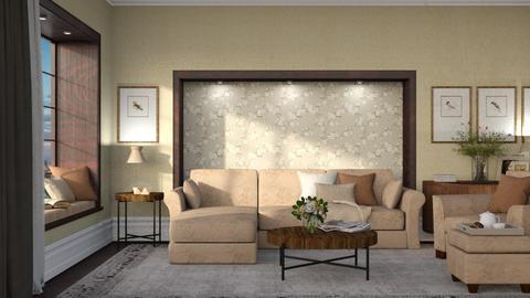 Calgary - Minimal - Living room  - by Claudia Correia