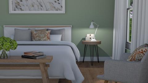 Sage green - Bedroom  - by Thrud45