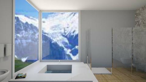 Mountain Bathroom - Bathroom - by taylorashton