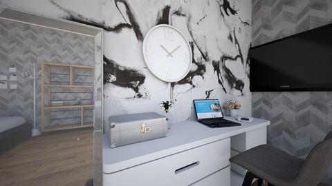 My bedroom - Modern - Bedroom  - by missnube1