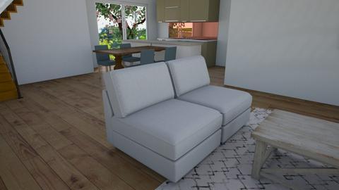 Landing_Stairs_v8 - Living room - by jupiterjazz