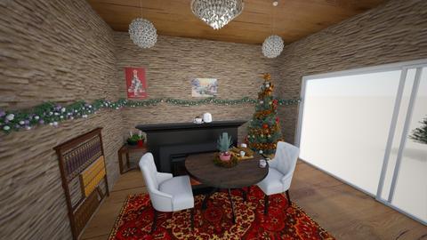 winter - Vintage - Living room  - by ellta